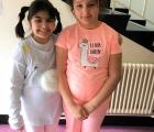 Farwah and Eleni
